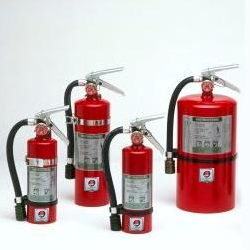 I) JL Industries Mercury Halotron Fire Extinguisher - As Low As