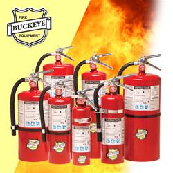 Buckeye ABC Dry Chemical Fire Extinguisher