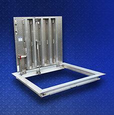 3) Halliday S1S Aluminum Angle Frame Floor Door/Hatch